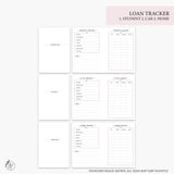 Loan Tracker Pink - B6 TN