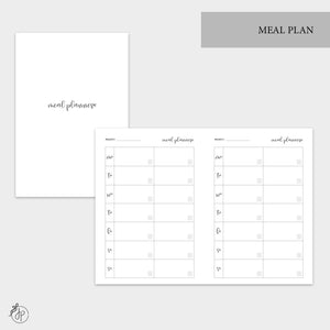 Meal Plan - A6 TN