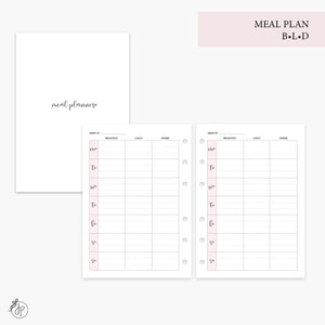 Meal Plan BLD Pink - Personal Wide Rings