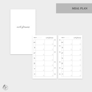 Meal Plan - Personal Rings