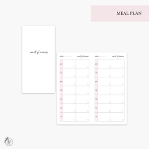 Meal Plan Pink - Hobo TN