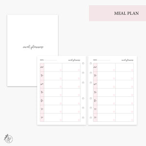 Meal Plan Pink - Personal Wide Rings