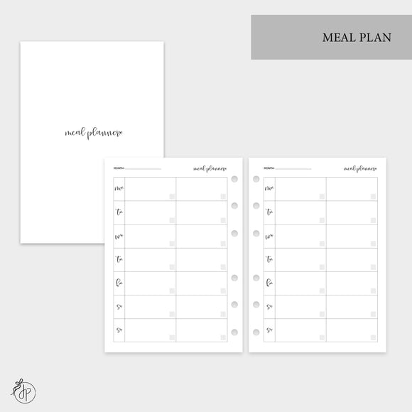 Meal Plan - Personal Wide Rings
