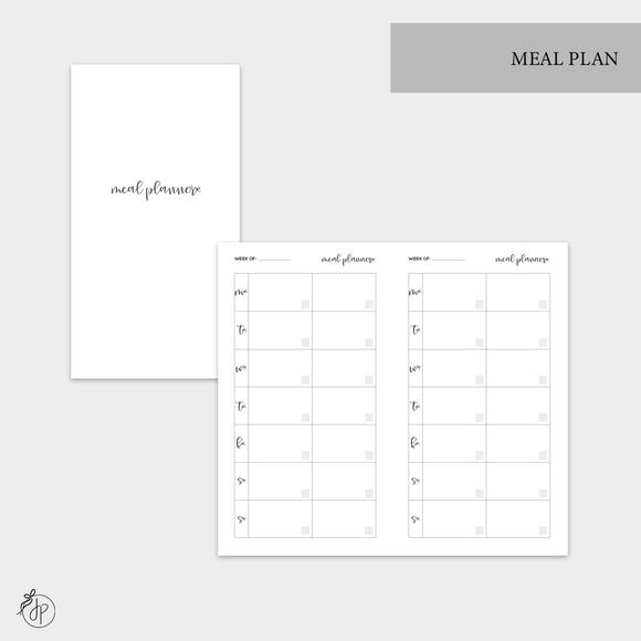 Meal Plan - Personal TN