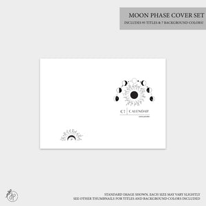 Moon Phase Covers - A6 TN