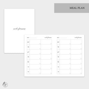 Meal Plan - B6 TN