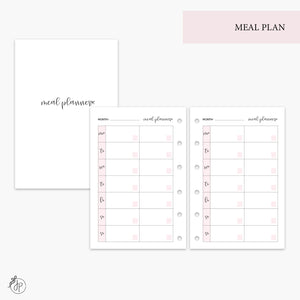 Meal Plan Pink - Pocket Rings
