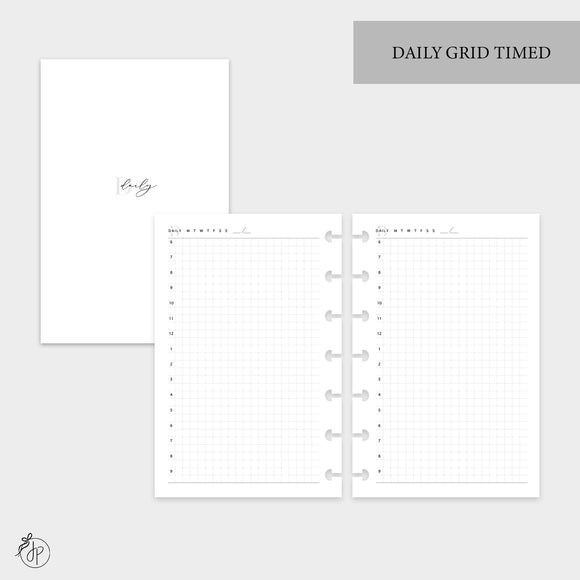 Daily Grid Timed - Mini HP Disc
