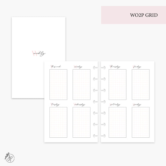 WO2P Grid Pink - Mini HP Disc