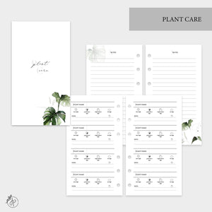 Plant Care - Personal Rings