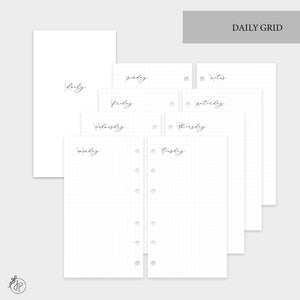 Daily Grid - Personal Rings