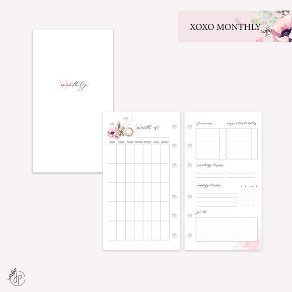 XOXO Monthly - Personal Rings