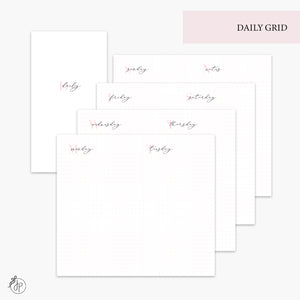 Daily Grid Pink - Personal TN