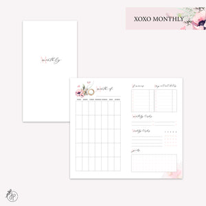 XOXO Monthly - Personal TN