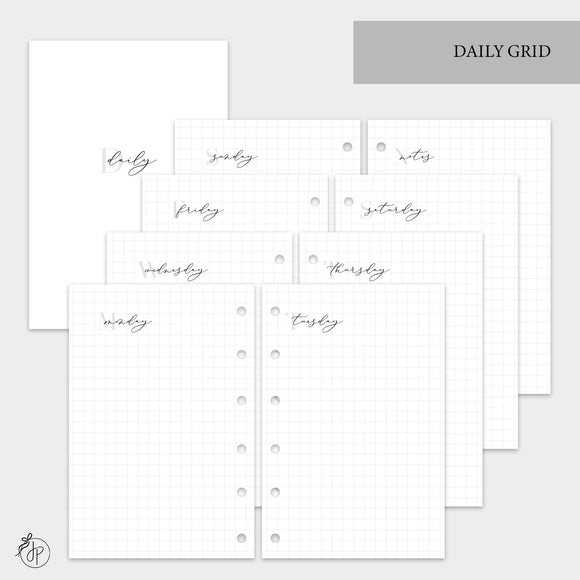 Daily Grid - Pocket Rings