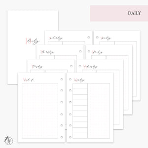 Daily Pink - Pocket Rings