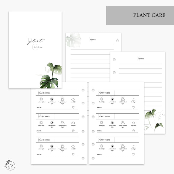 Plant Care - Pocket Rings