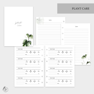 Plant Care - Personal Wide Rings