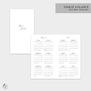 Year at a Glance 20/21 - Personal TN