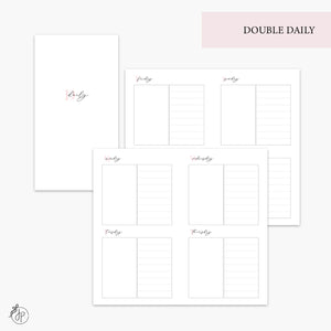 Double Daily Pink - Personal TN