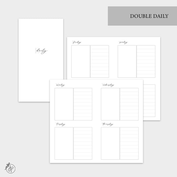 Double Daily - Personal TN
