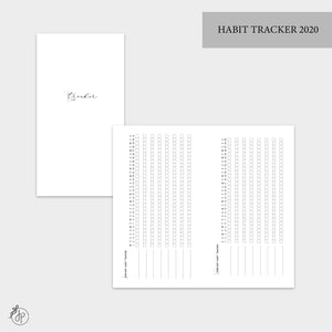 Habit Tracker 2020 - Personal TN