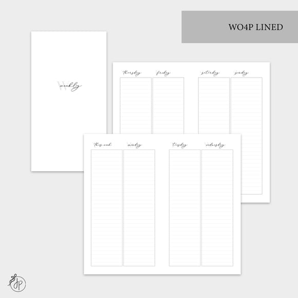 WO4P Lined Grey - Personal TN