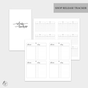 Shop Release Tracker - Personal TN