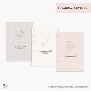 Botanical Covers - A5 Wide Rings