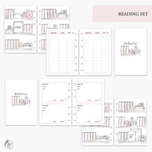 Reading Set Pink - A6 Rings