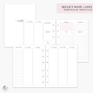 Sep-Oct Wo3P + Lists Pink - B6 Rings