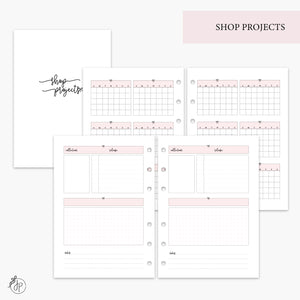Shop Projects Pink - A5 Rings