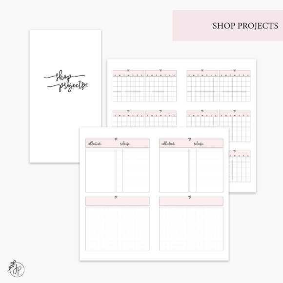 Shop Projects Pink - Personal TN