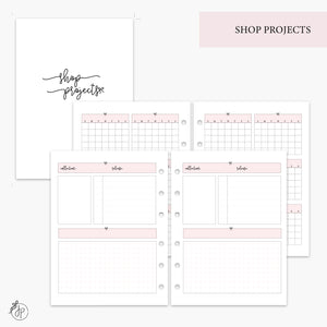 Shop Projects Pink - B6 Rings
