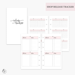 Shop Release Tracker Pink - Personal Rings