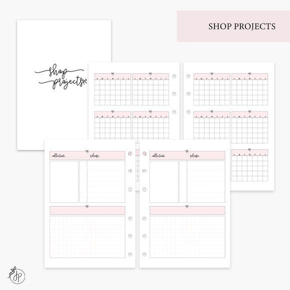 Shop Projects Pink - Personal Wide Rings