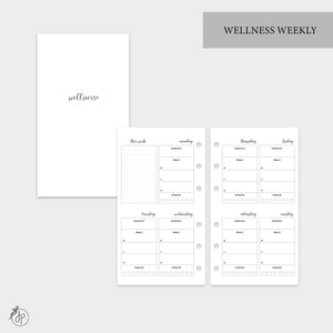 Wellness Weekly - Personal Rings
