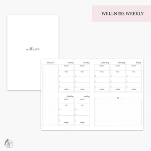 Wellness Weekly Pink - B6 TN