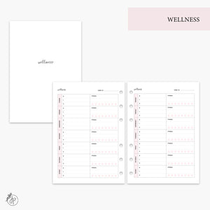 Wellness Pink - A5 Rings