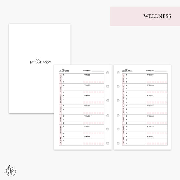 Wellness Pink - Pocket Rings