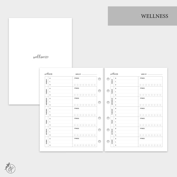 Wellness - B6 Rings