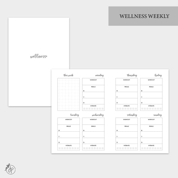 Wellness Weekly - A6 TN