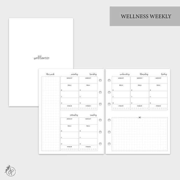 Wellness Weekly - B6 Rings
