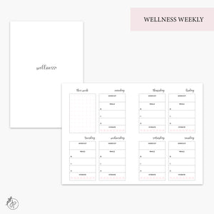 Wellness Weekly Pink - A6 TN