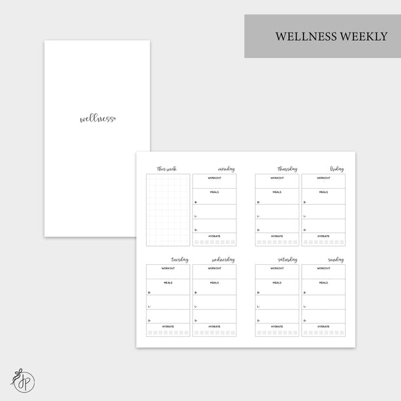 Wellness Weekly - Personal TN