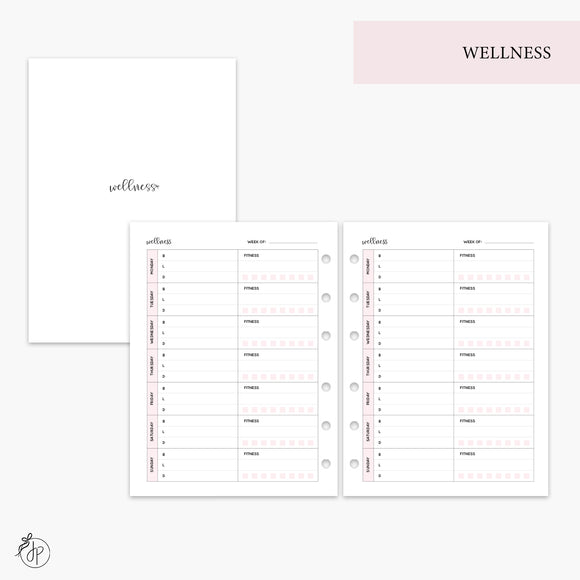 Wellness Pink - B6 Rings