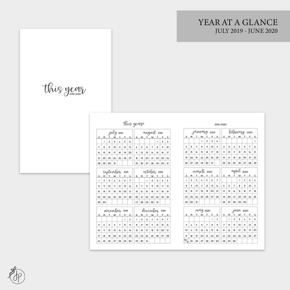 Year at a Glance 19/20 - Pocket TN