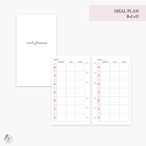 Meal Plan BLD Pink - Personal Rings
