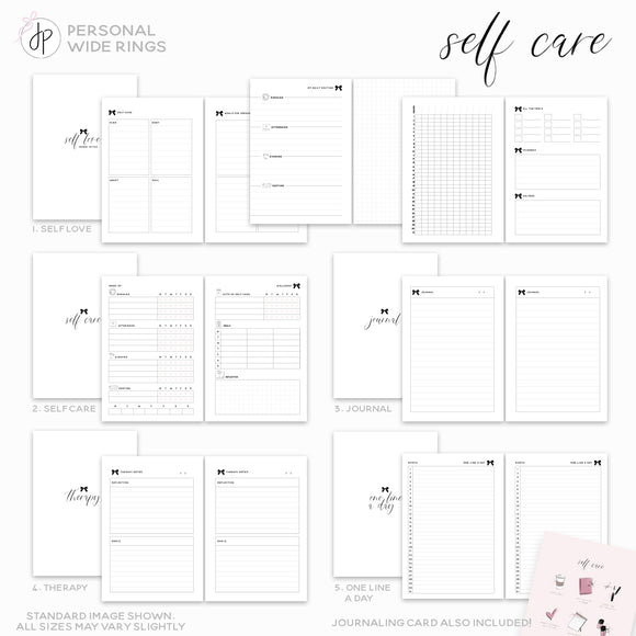 Self Care - Personal Wide Rings