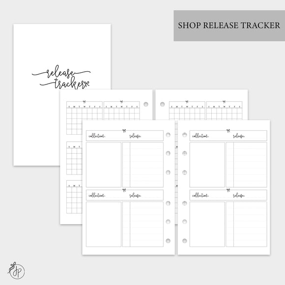 Shop Release Tracker - A6 Rings